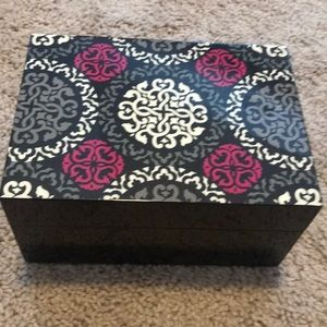 New Vera Bradley jewelry box case